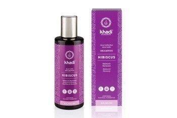Delikatny szampon z hibiskusem Khadi