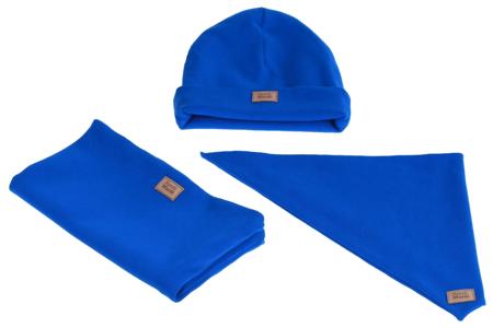 Komplet czapka chusta i komin: MORSKA EUFORIA