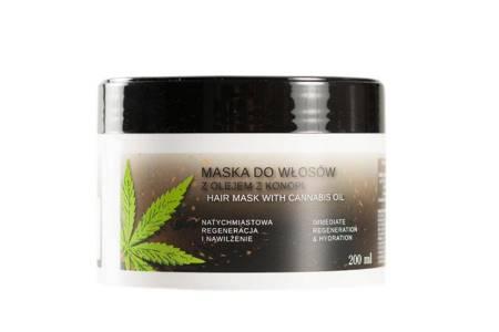 Maska do włosów z olejem z konopi 200 ml